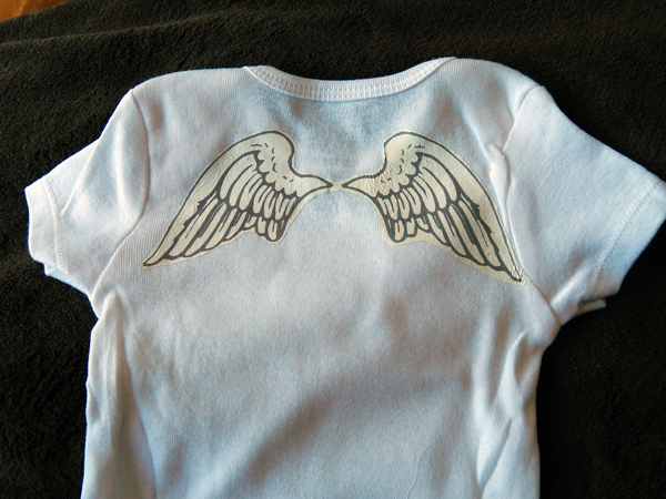 angel onesie