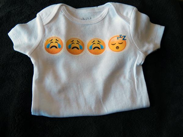 emoji onesie